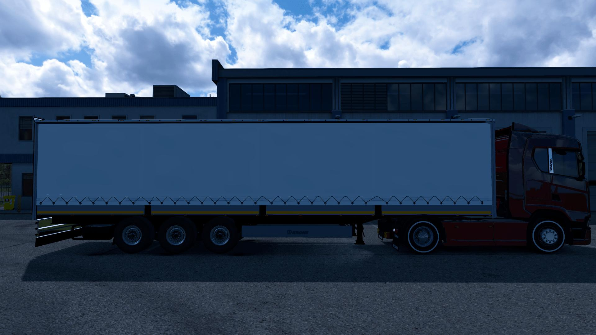 ETS2 - Krone Curtain Trailer (1.37.x)