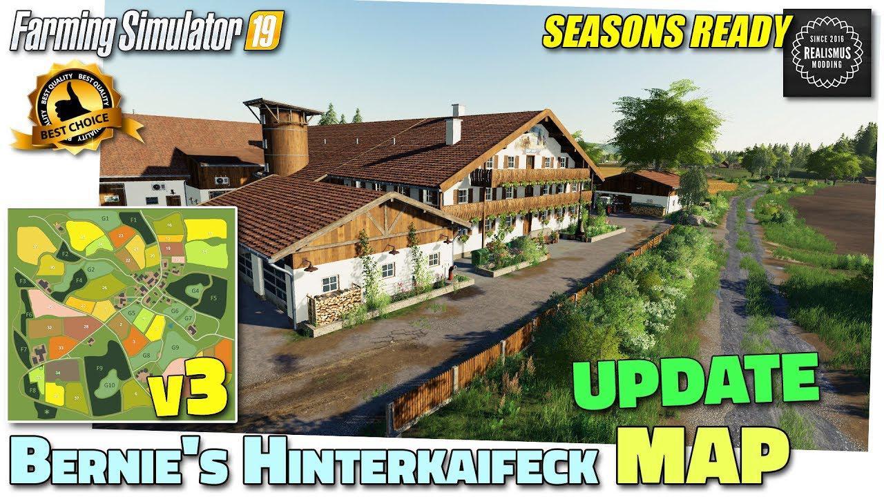 FS19 - Bernies Hinterkaifeck Map V3.0.4