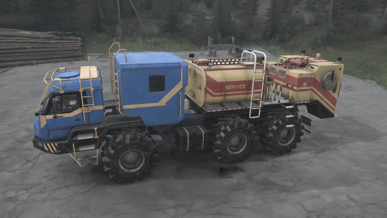Spintires:Mudrunner - Azov 4220 Antarctic Truck V02.07.20