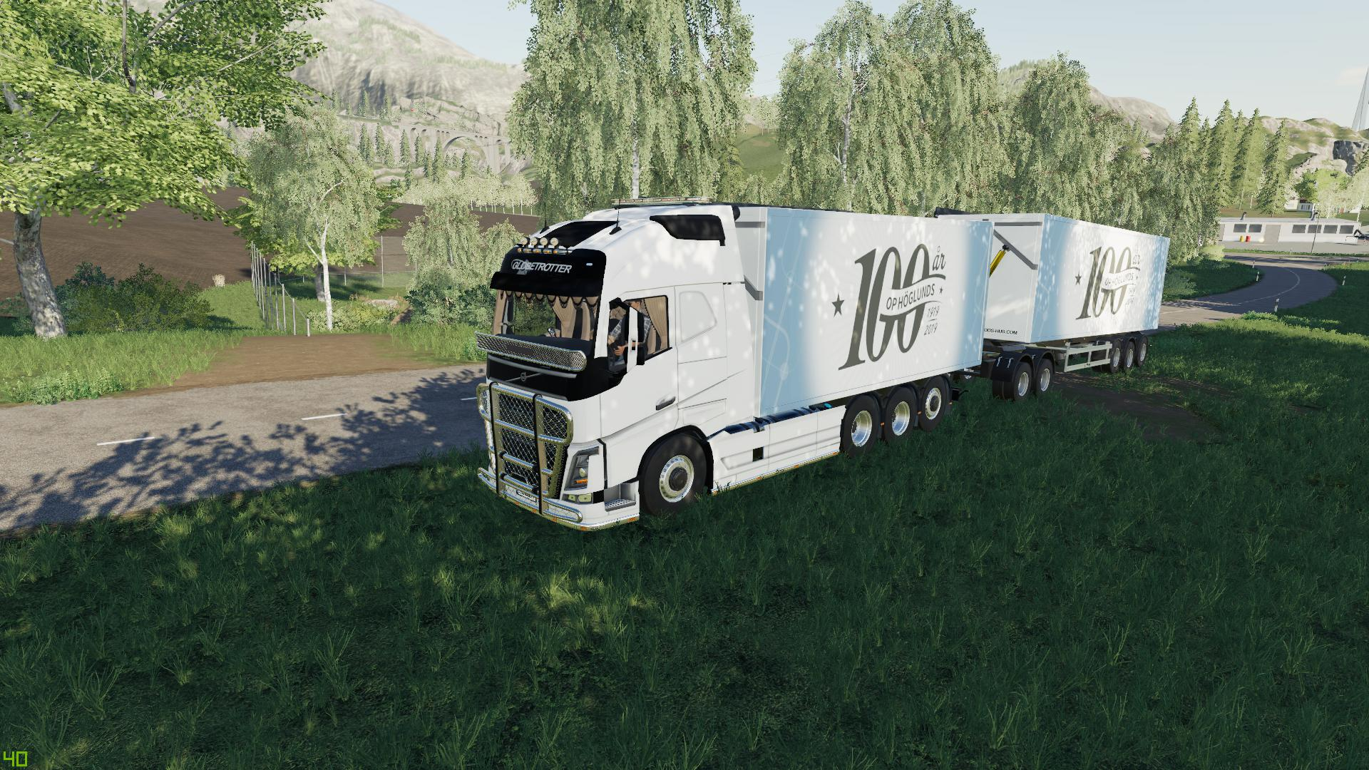 FS19 - Volvo FH16 Woodchips and Trailer V1.3