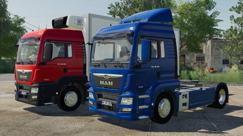 FS19 - Man Tgs LX Truck V1.0