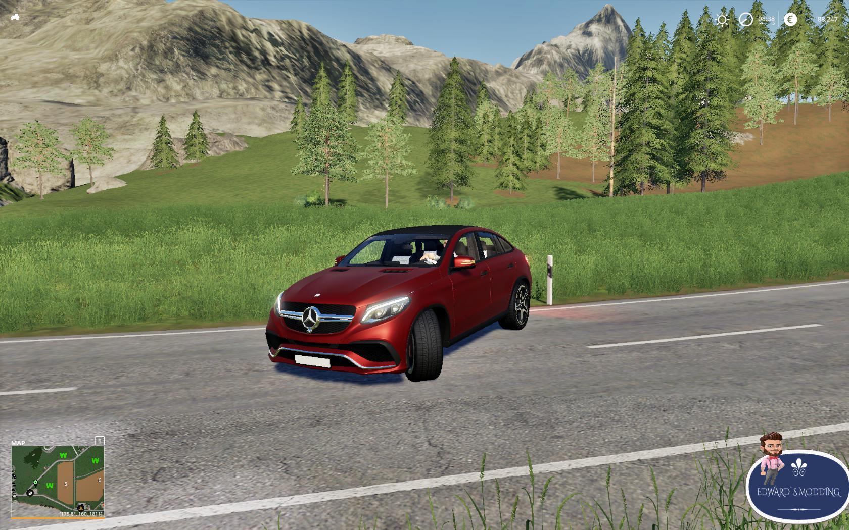 FS19 - Mercedes GLE V1.0