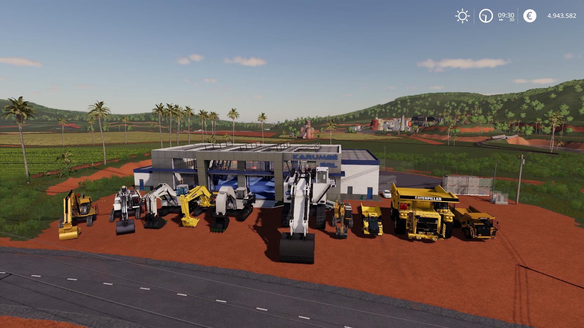 FS19 - Excavators & Dumpers Pack V0.2