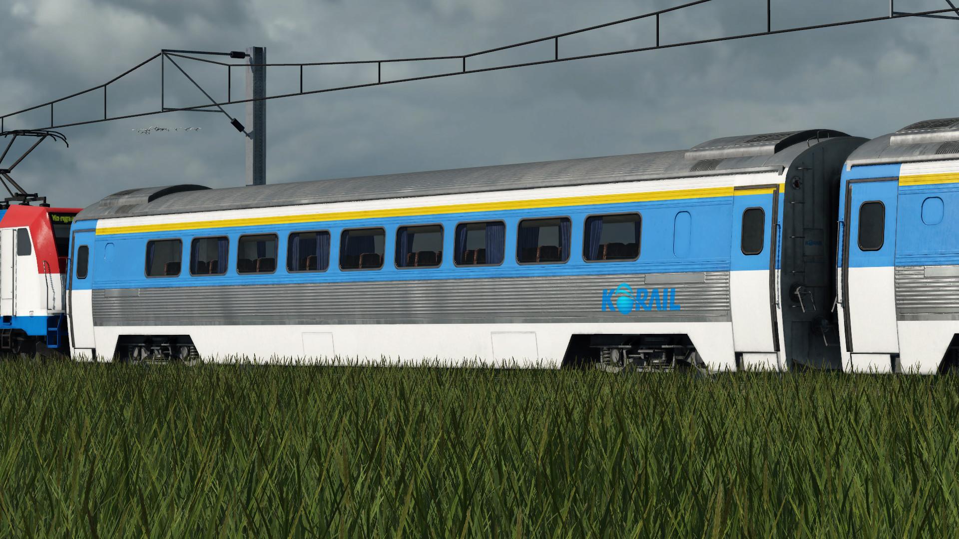 Transport Fever 2 - Korail Saemaul Express Wagon Addon