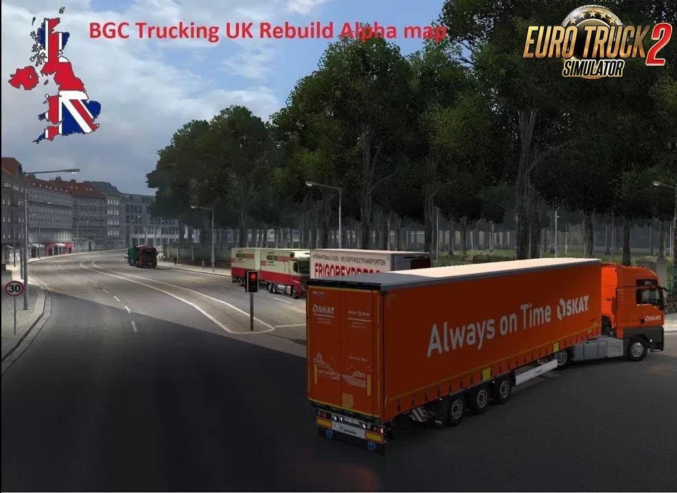 ETS2 - BGC Trucking UK Rebuild (Fixed 02.11) V1.1.1 (1.36.X)