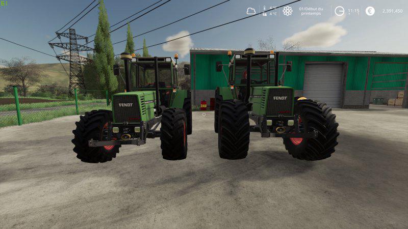 FS19 - Fendt Favorit 600 Tractor V1.0