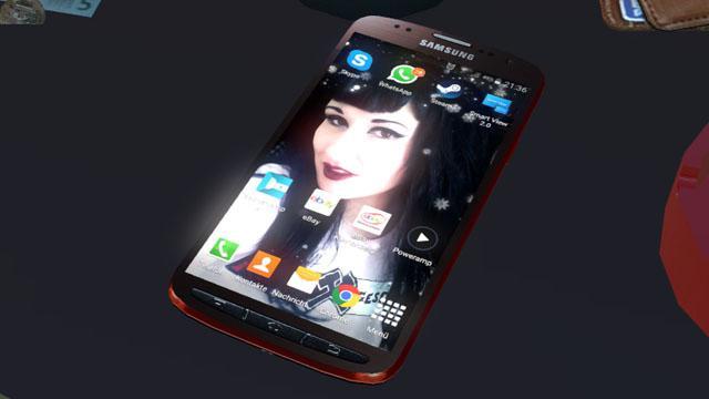ETS2 - Toy Samsung Galaxy S4 Active V1.0 (1.35.x)