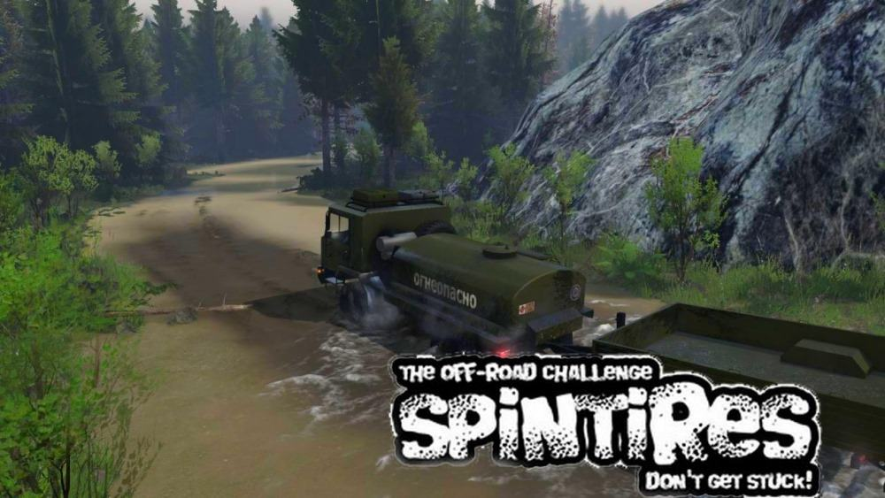 Spintires - Levels Kalumchik Map V1.0