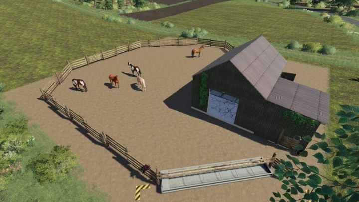 FS19 - A Small Horse Stable V1.1