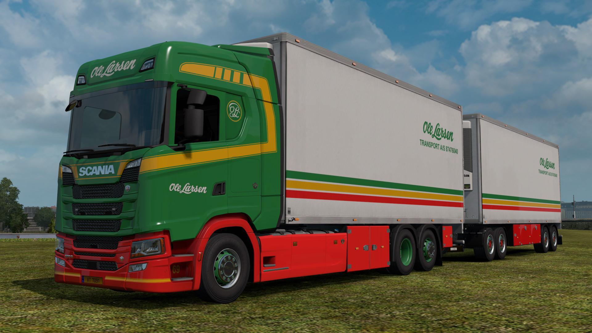 ETS2 - BDF Tandem Truck Pack V139.50 (1.39.x)
