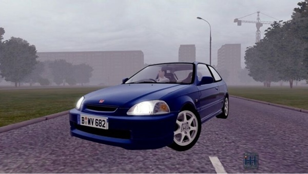 City Car Driving 1.5.9 - Honda Civic Type-R 1997