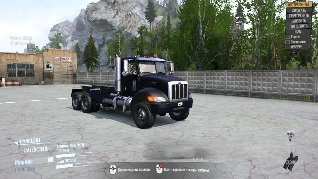 Spintires:Mudrunner - Peterbilt – Nord Truck V1