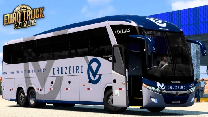 ETS2 - Marcopolo G7 1200 Euro 6 Bus Mod (1.41.x)