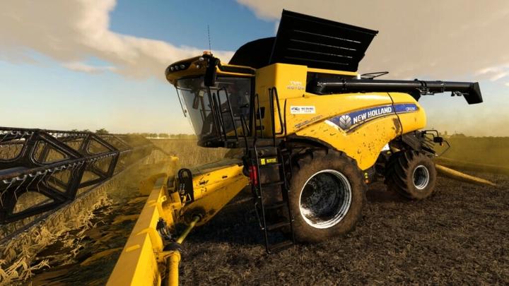 FS19 - New Holland CR10.90 US Harvester V1.0.0.1