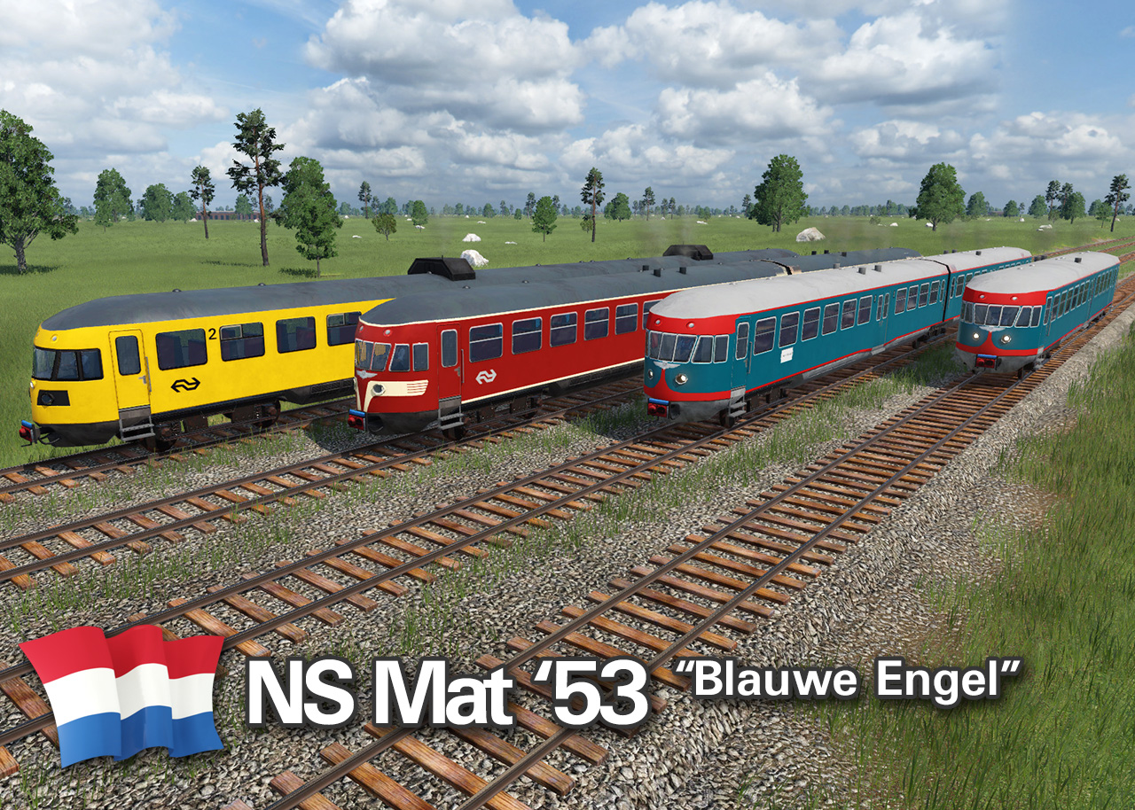 Transport Fever 2 - NS Mat 53 Blauwe Engel