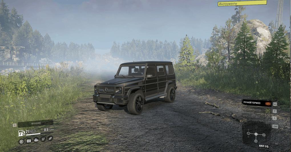 SnowRunner - Gelandewagen G63 AMG V1.0