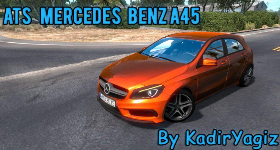 ATS - Mercedes-Benz A45 V1.0 Upgrade (1.38.x)