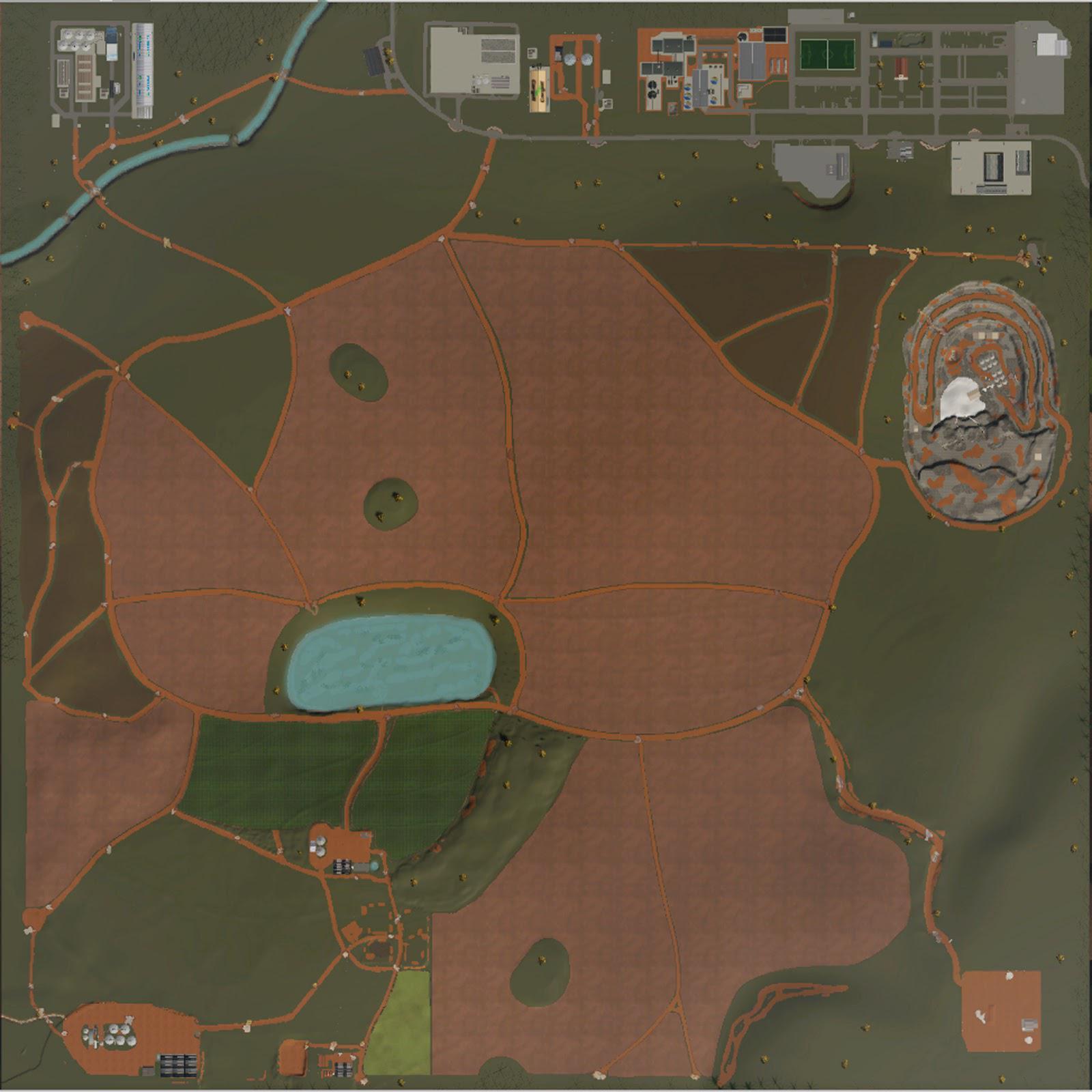 FS19 - Fazenda Fortaleza Map V1.0