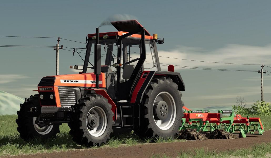 FS19 - Ursus 1234/1434/1634 Tractor V1.0