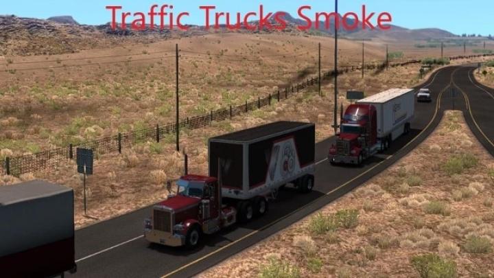 ATS - Traffic Trucks Smoke V1.5 (1.41.x)