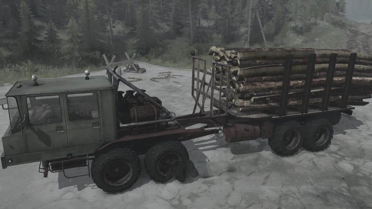 Spintires:Mudrunner - Kraz 6434 Truck V26.08.20