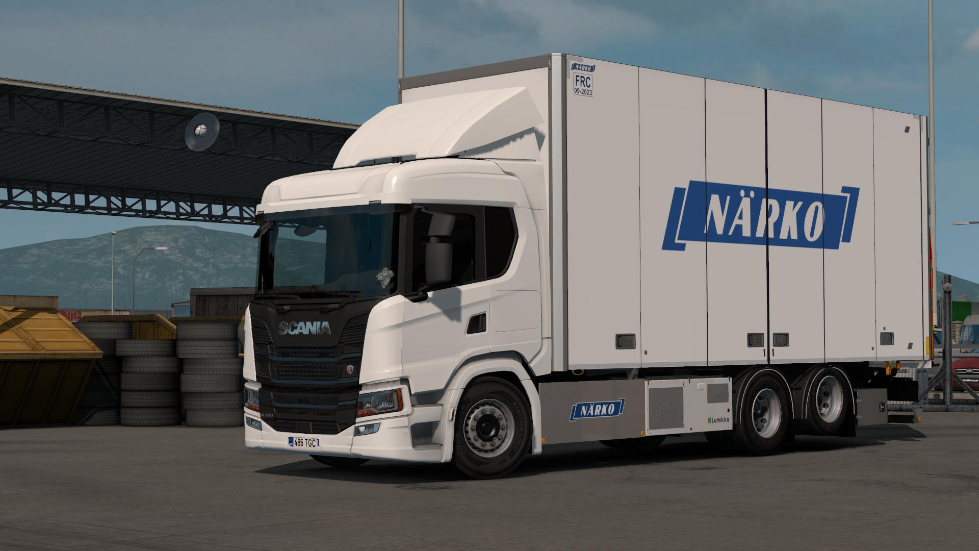 ETS2 - Rigid Chassis Addon for Eugenes Scania NG V1.1 (1.35.x)