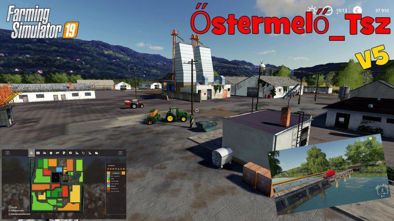 FS19 - Ostermelo Tsz Map V5.0