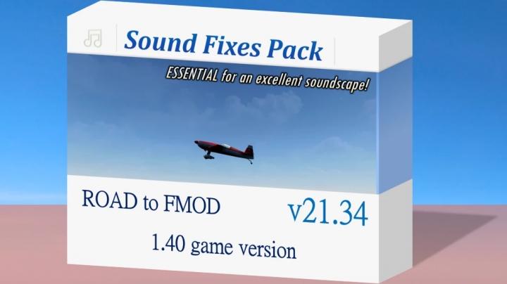 ATS - Sound Fixes Pack V21.34 (1.40.x)