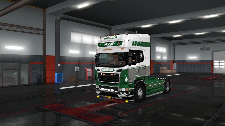 ETS2 - Scania RJL STB As Skin V1.2 (1.36.x)
