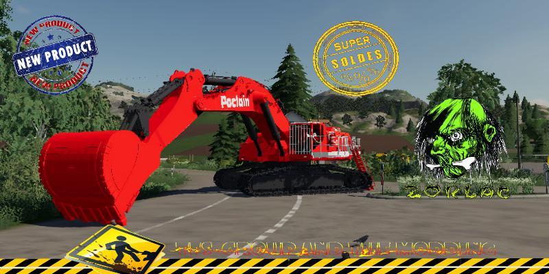 FS19 - Excavatrice Poclain 1000 V1.5