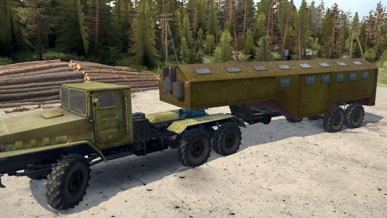 Spintires:Mudrunner - Zil 443114/6009 Truck V1