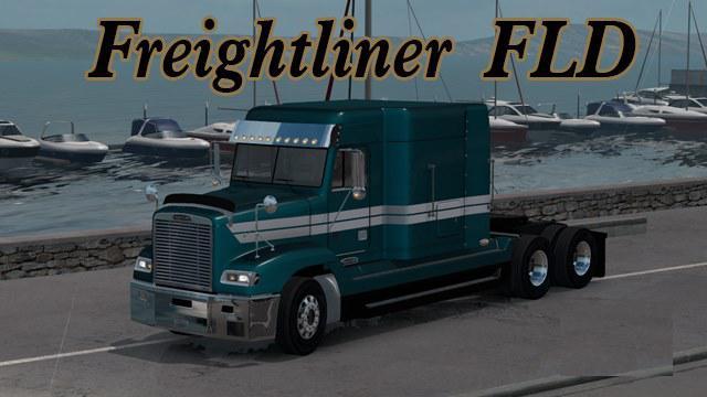 ATS - Freightliner FLD Fast Fix Mod (1.39.x)