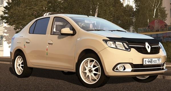 City Car Driving 1.5.9 - Renault Logan 1.6l MT 2014