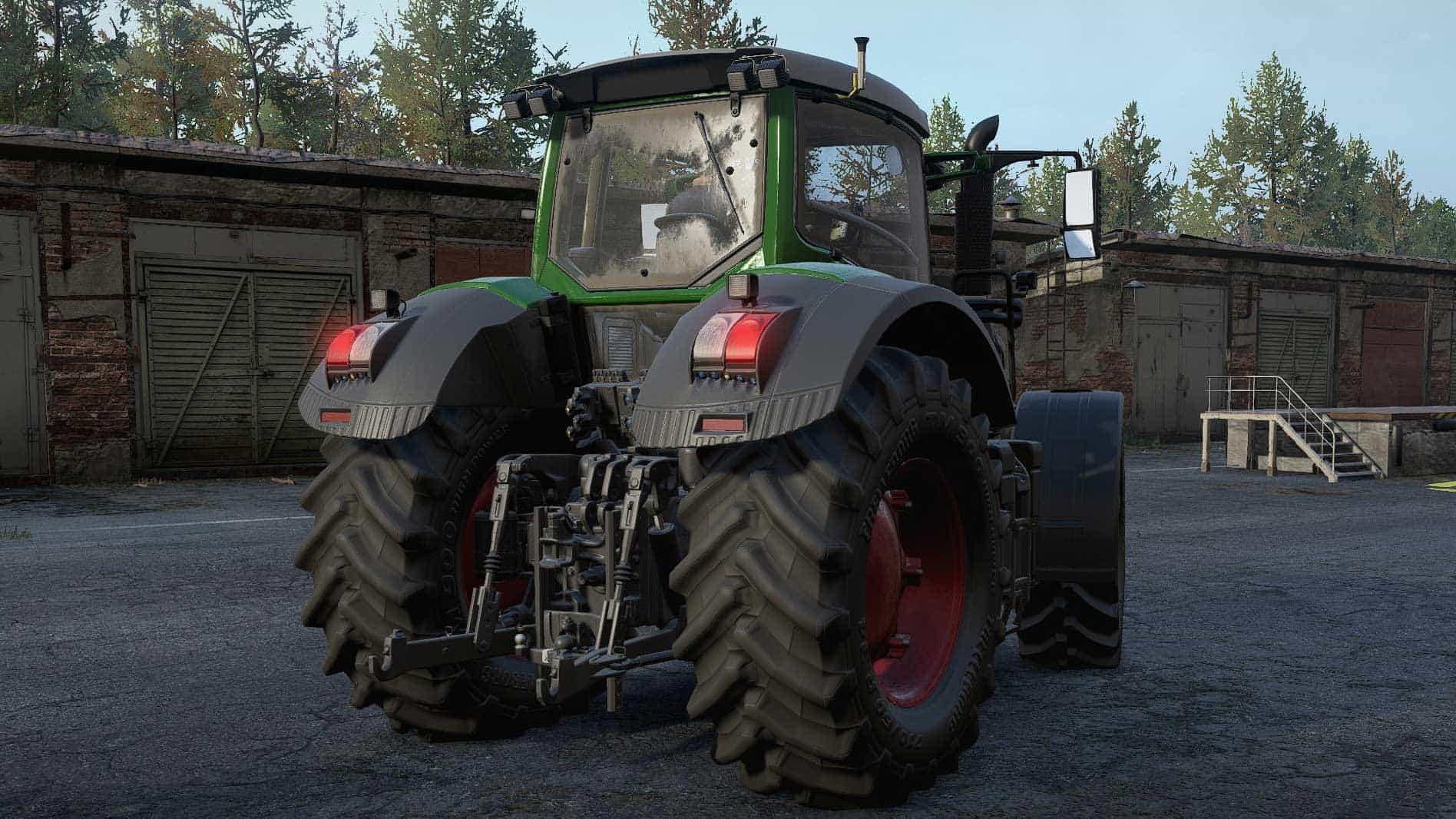 SnowRunner - Fendt 930 Vario Tractor V1.1.0