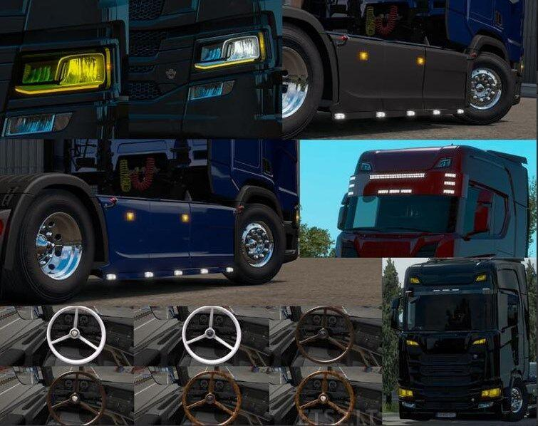 ETS2 - Big Pack Scania Next Gen V1.5 (1.38.x)