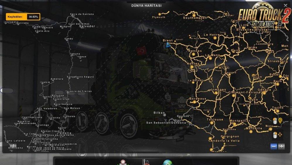 ETS2 - Maps Mods - ETS2 Mods - Mods club