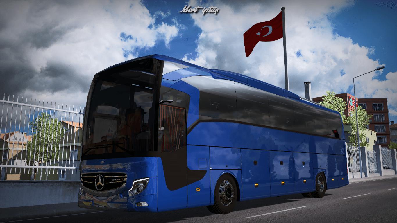 ETS2 - Mercedes-Benz Travego X 2020 Bus (1.37 - 1.38)