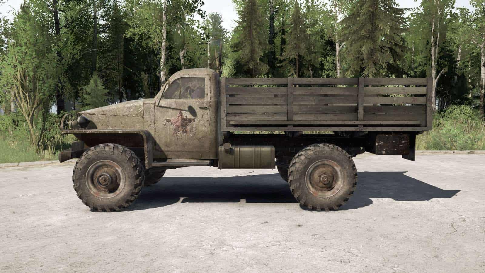 Spintires:Mudrunner - Gaz 63 1943 Truck