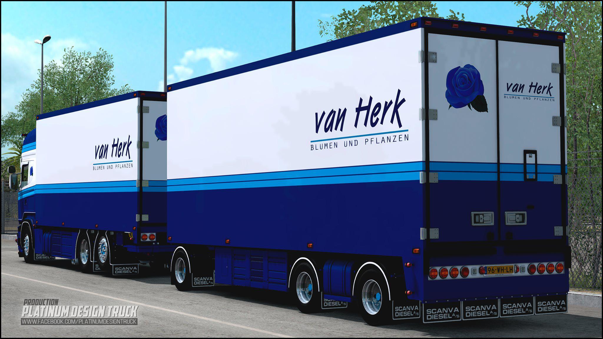 ETS2 - Scania Van Herk (1.39.x)