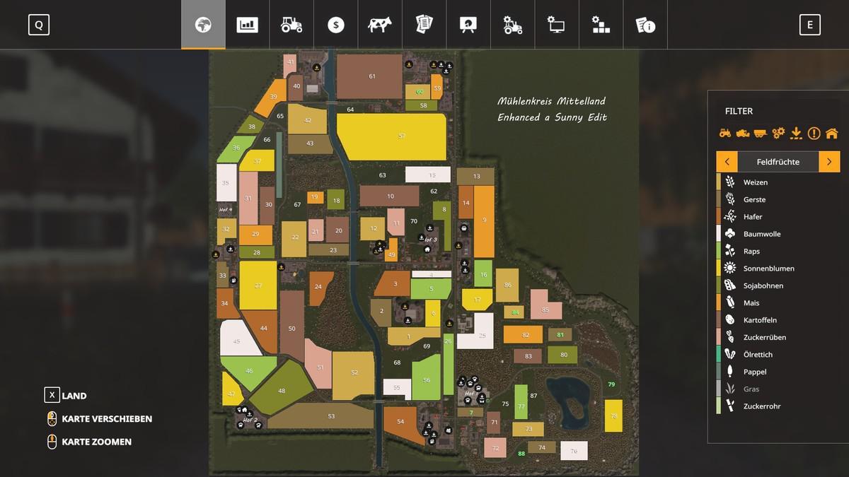 FS19 - Muehlenkreis Mittelland Enhanced Sunny Edit V2.0