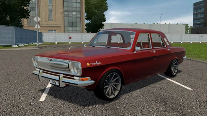 City Car Driving 1.5.9 – Gaz 24 V8 3UZ-FE