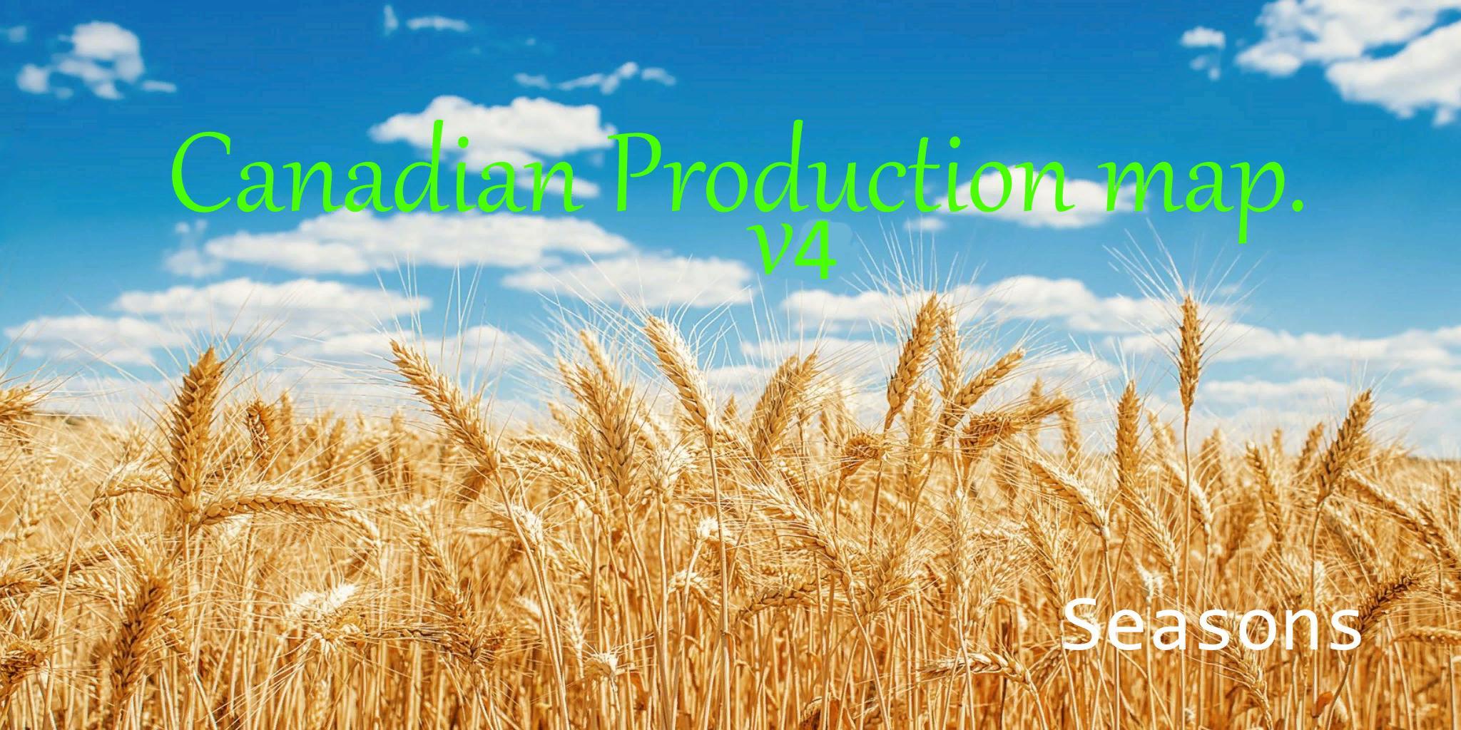 FS19 - Canadian Production Map V4.0