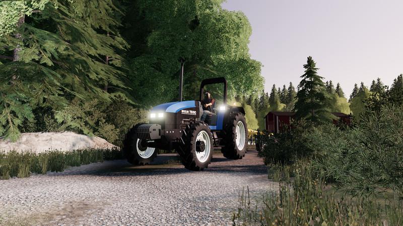 FS19 - New Holland TS90 V2.1