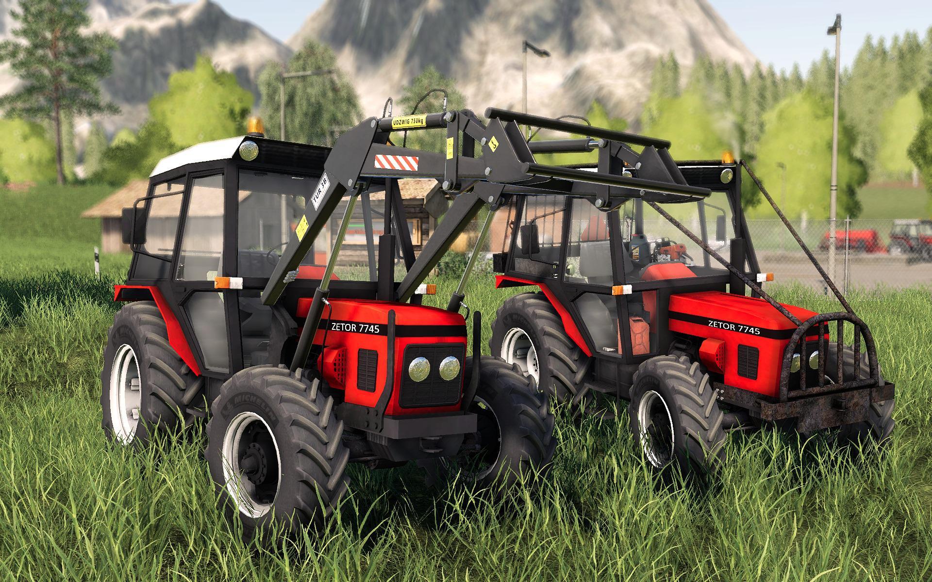 FS19 - Zetor 7745 Tractor V1.0