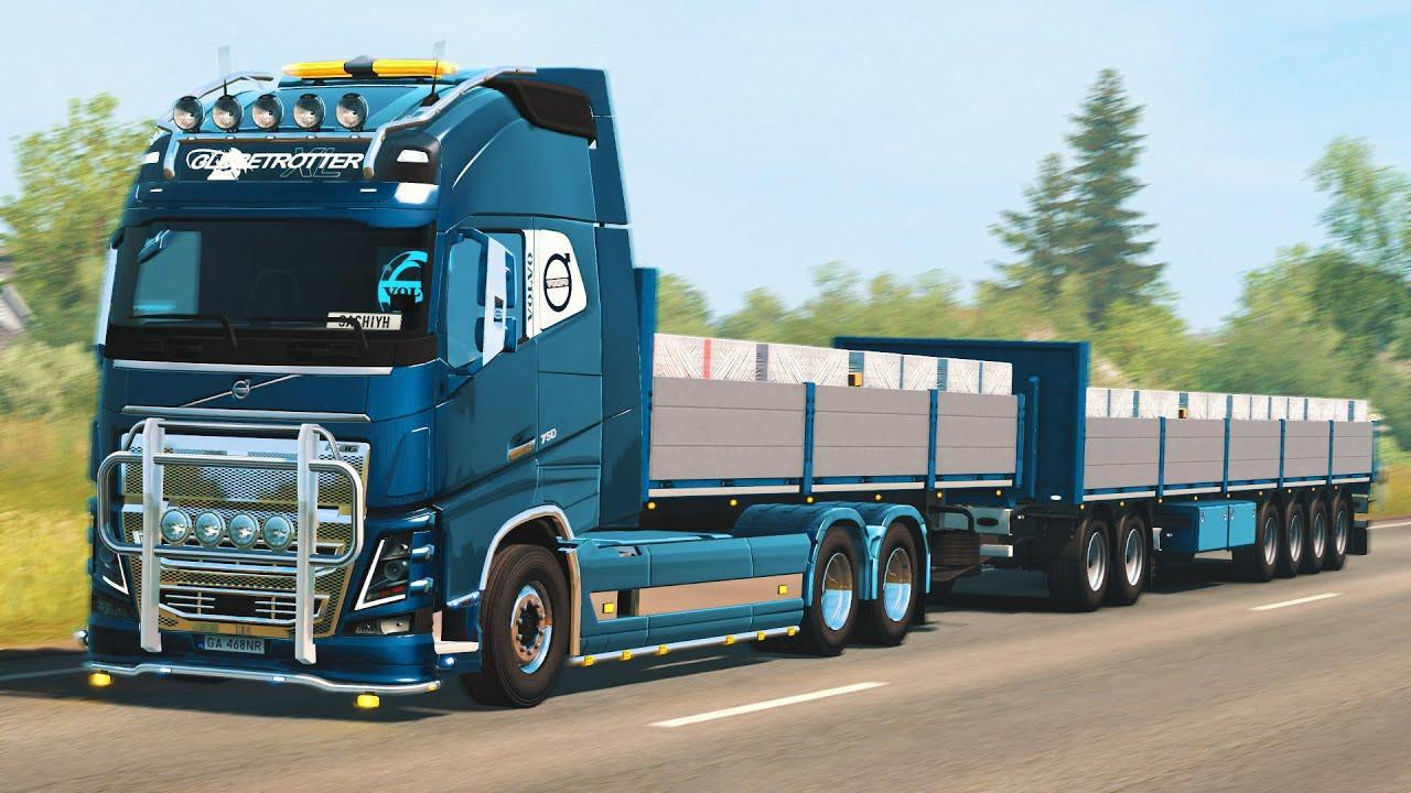 ETS2 - Rpie Volvo FH16 2012 Truck V1.40.0.115S