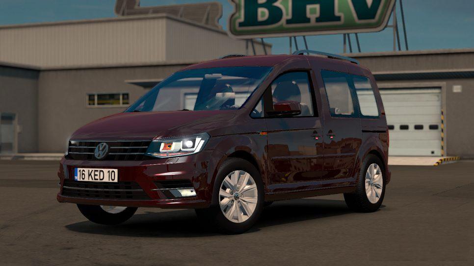 ETS2 - Volkswagen Caddy V1R20 (1.36.x)