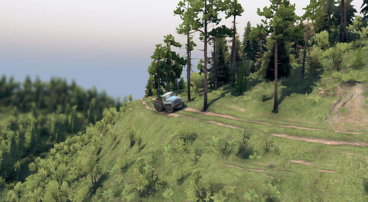 Spintires - Mountain Map V1.0