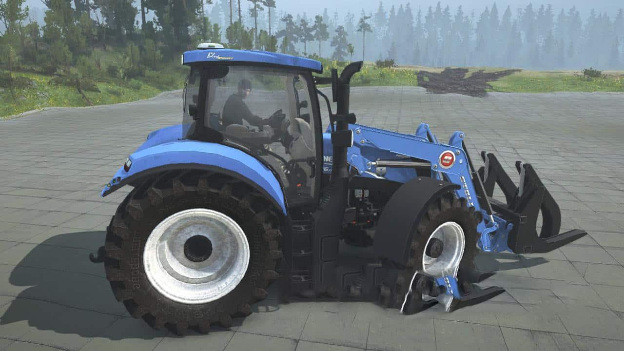 Spintires:Mudrunner - New Holland T6.175 Tractor V1.0