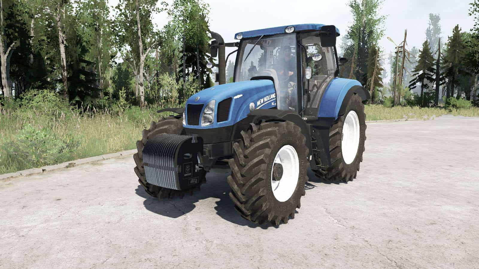 Spintires:Mudrunner - New Holland T6.175 Tractor