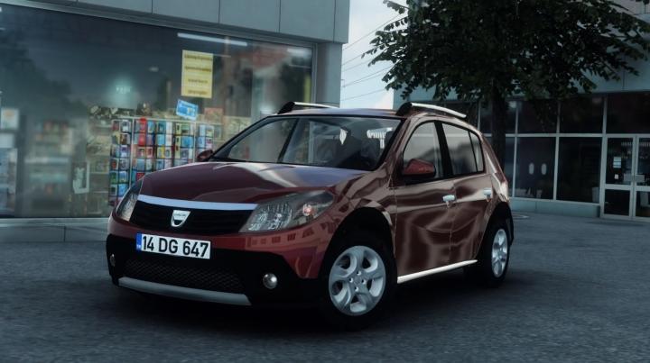 ETS2 - Dacia Sandero (1.40 - 1.41)